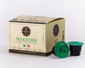 Corona Maestro Capsules. Dark Roasted Coffee