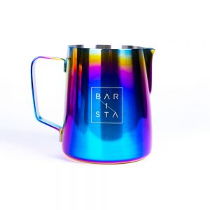 Barista Rainbow Milk Frothing Jug and Pitcher for the latte art lover